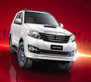 Fortuner Self Drive Rent Punjab